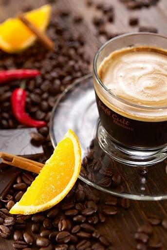 Flavoured Coffee Schoko Orange