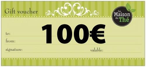 Geschenkgutschein im Wert von 100€
