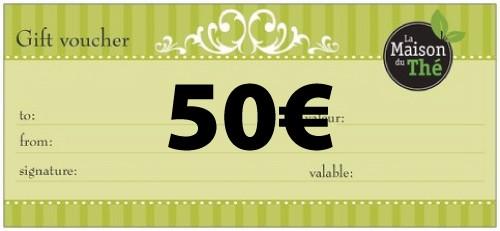Geschenkgutschein im Wert von 50€